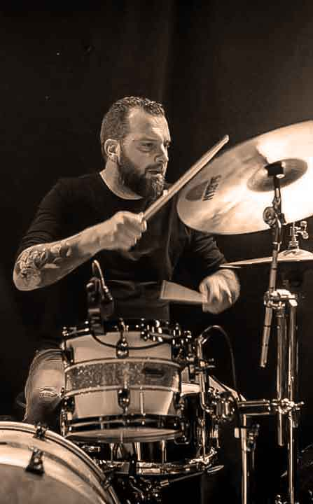 Raphaël WILHELMI - Chris Watson trio - Batterie, percussions